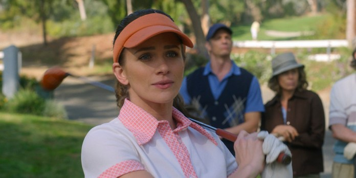 Karen Baldwin (Shantel VanSanten) isn't the only one terrible at golf