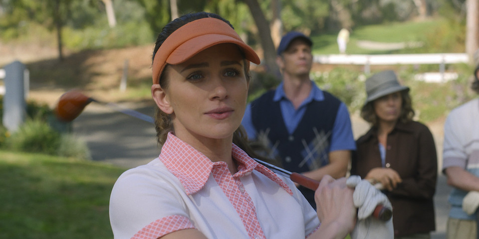 Karen Baldwin (Shantel VanSanten) isn't the only one terrible at golf