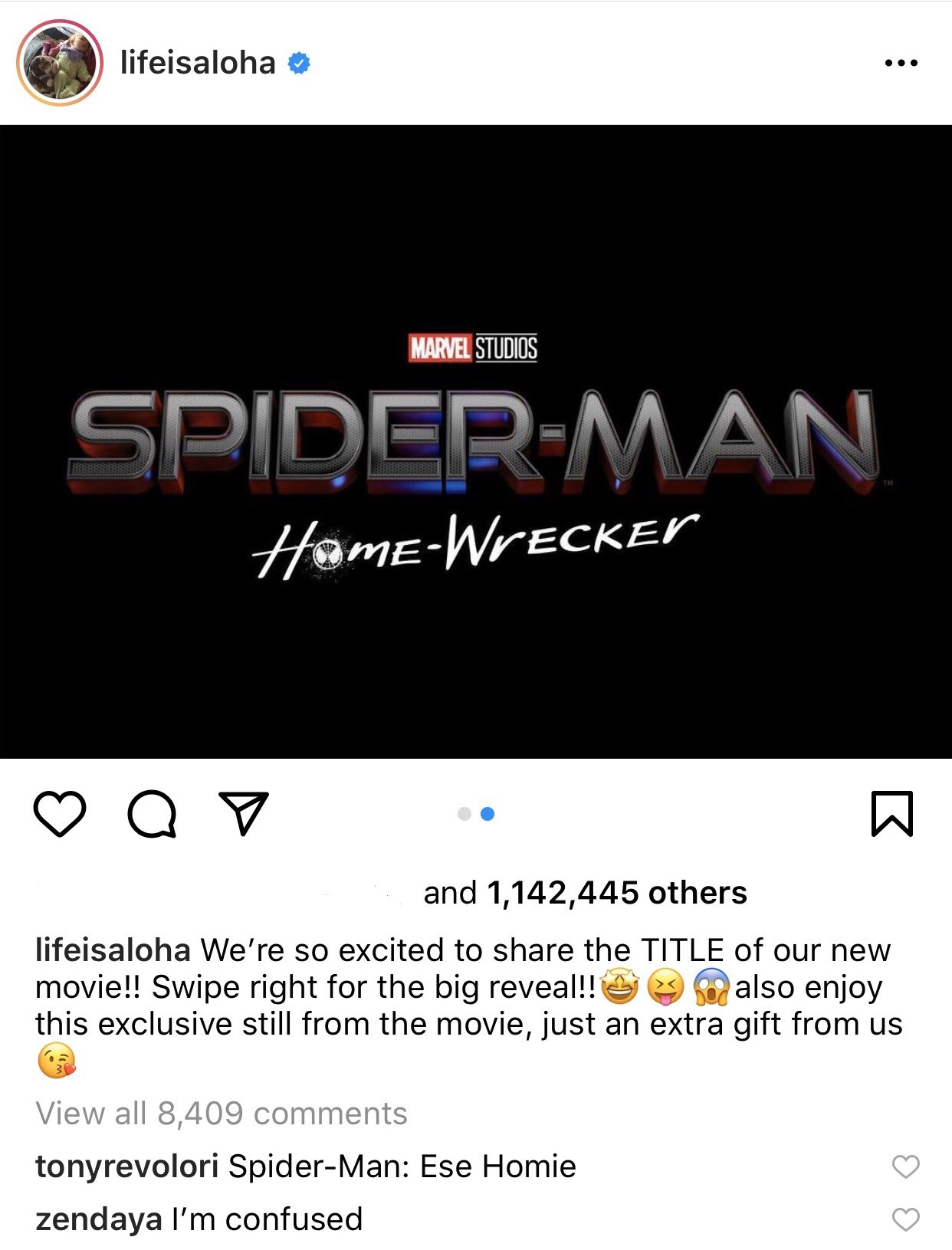 3 titles announced for Spider-Man 3