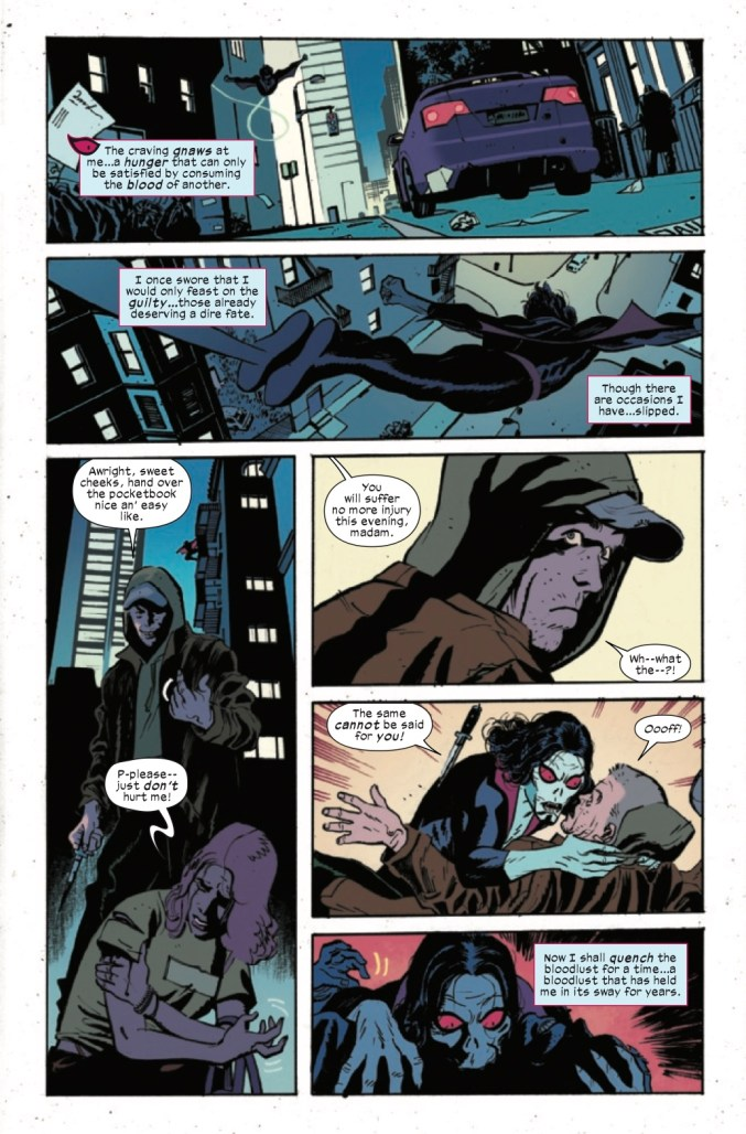 Page From Morbius: Bond of Blood #1