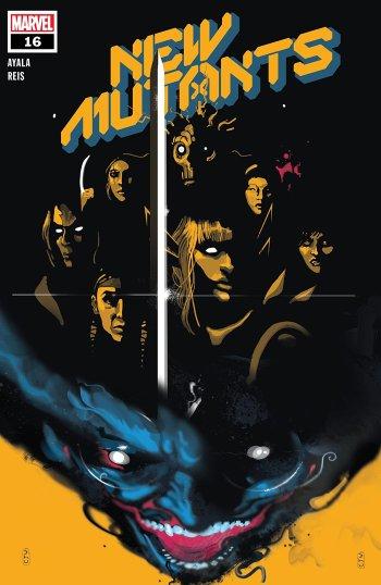 New Mutants #16 Cover