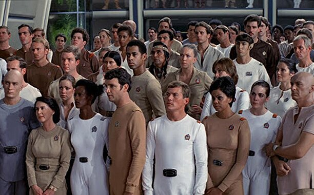 Look at all the beige in Star Trek: The Motion Picture