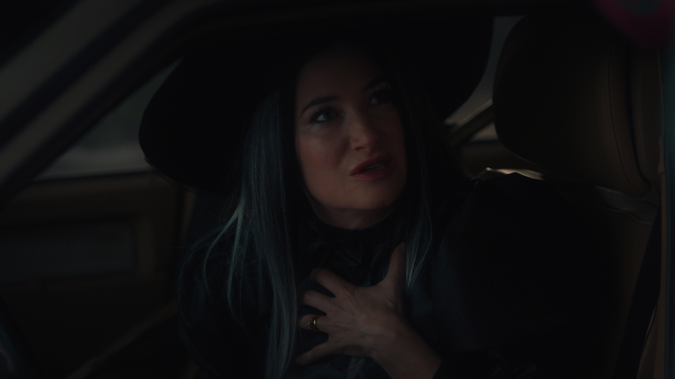 Agnes (Kathryn Hahn) begs Vision for the town's freedom