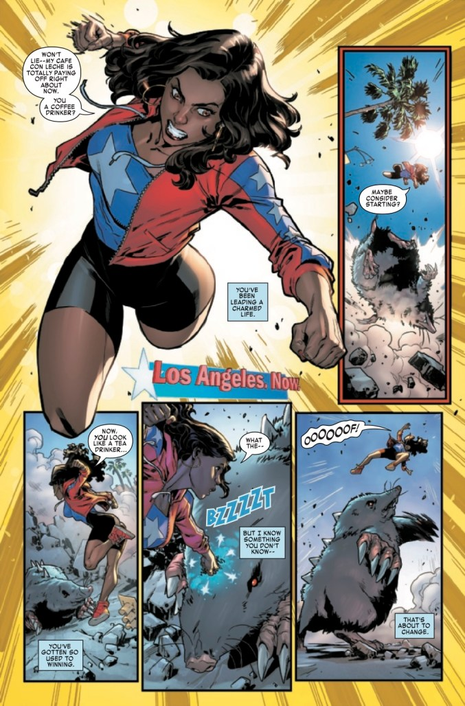 America Chavez: Made in the USA #1 Page 2