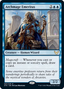 Archmage Emeritus Standard Card