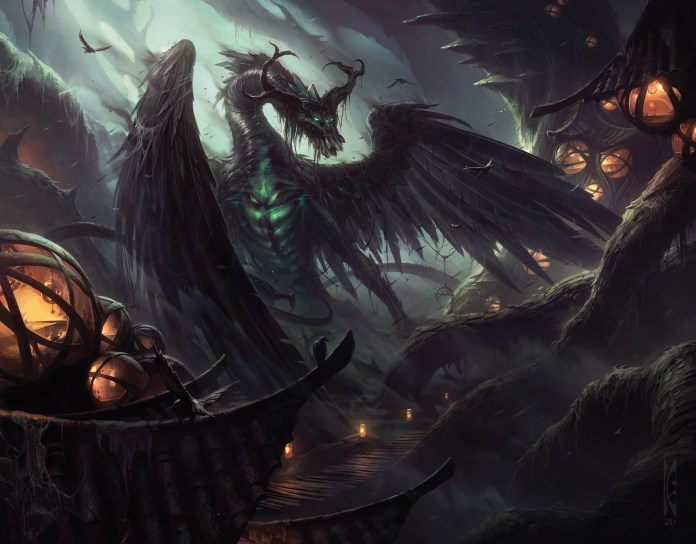 Beledros Witherbloom by Raymond Swanland