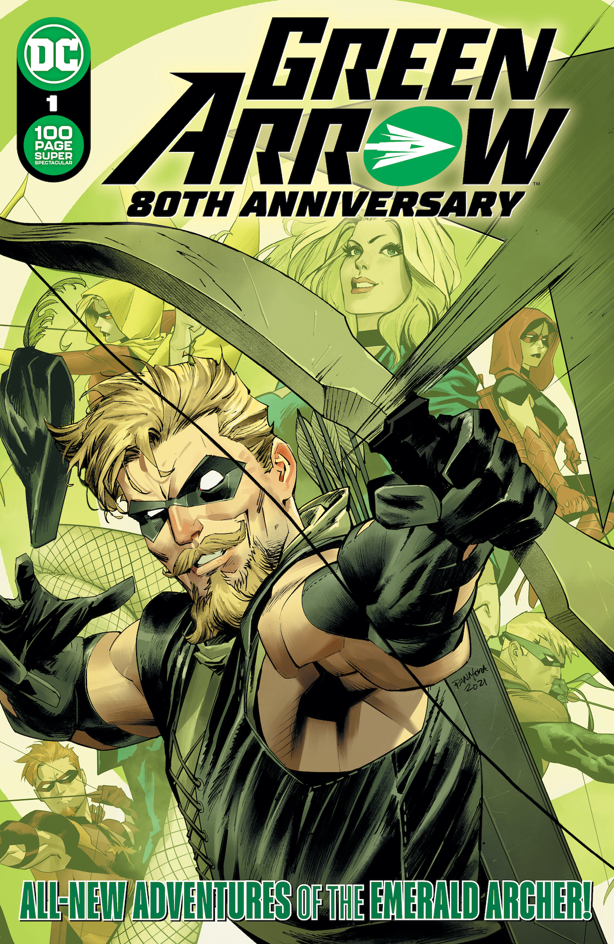 GREEN ARROW 80th Anniversary special coming in June