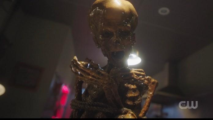 Riverdale Mothman corpse