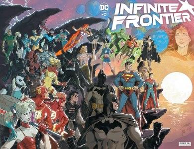 Infinite Frontier #0 Cover