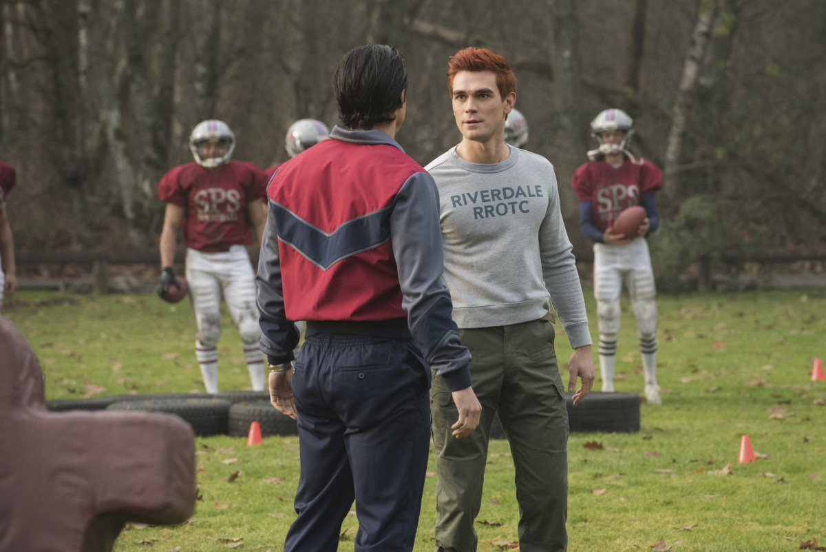 The start of the new Riverdale-Stonewall football rivalry
