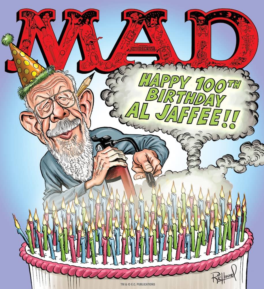 Kibbles 'n' Bits 3/22/21: Happy 100th Birthday, Al Jaffee