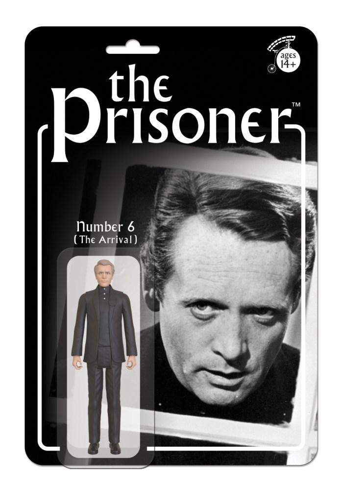 The Prisoner retro action figures