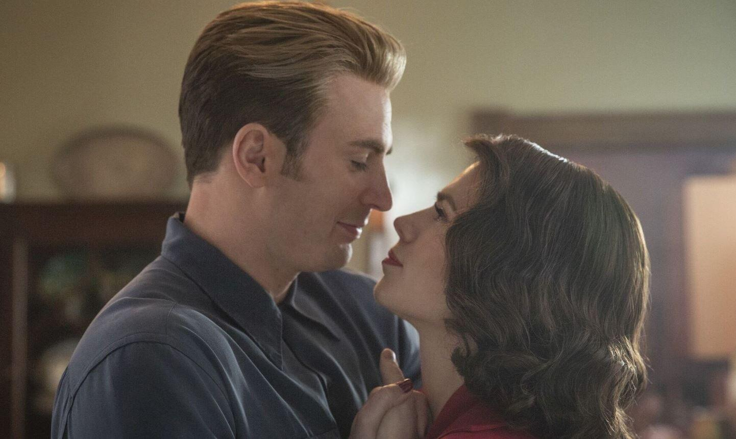 Steve and Peggy, the iconic romantically troubled MCU couple