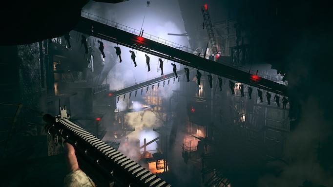 Resident Evil Village factory