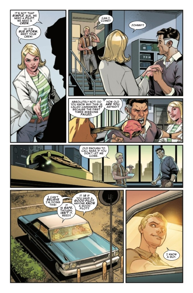 Page From Fantastic Four: Life Story #1