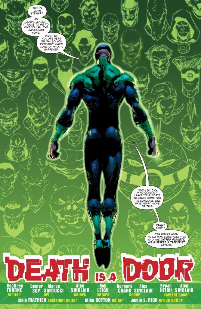 Green Lantern #2 page 1