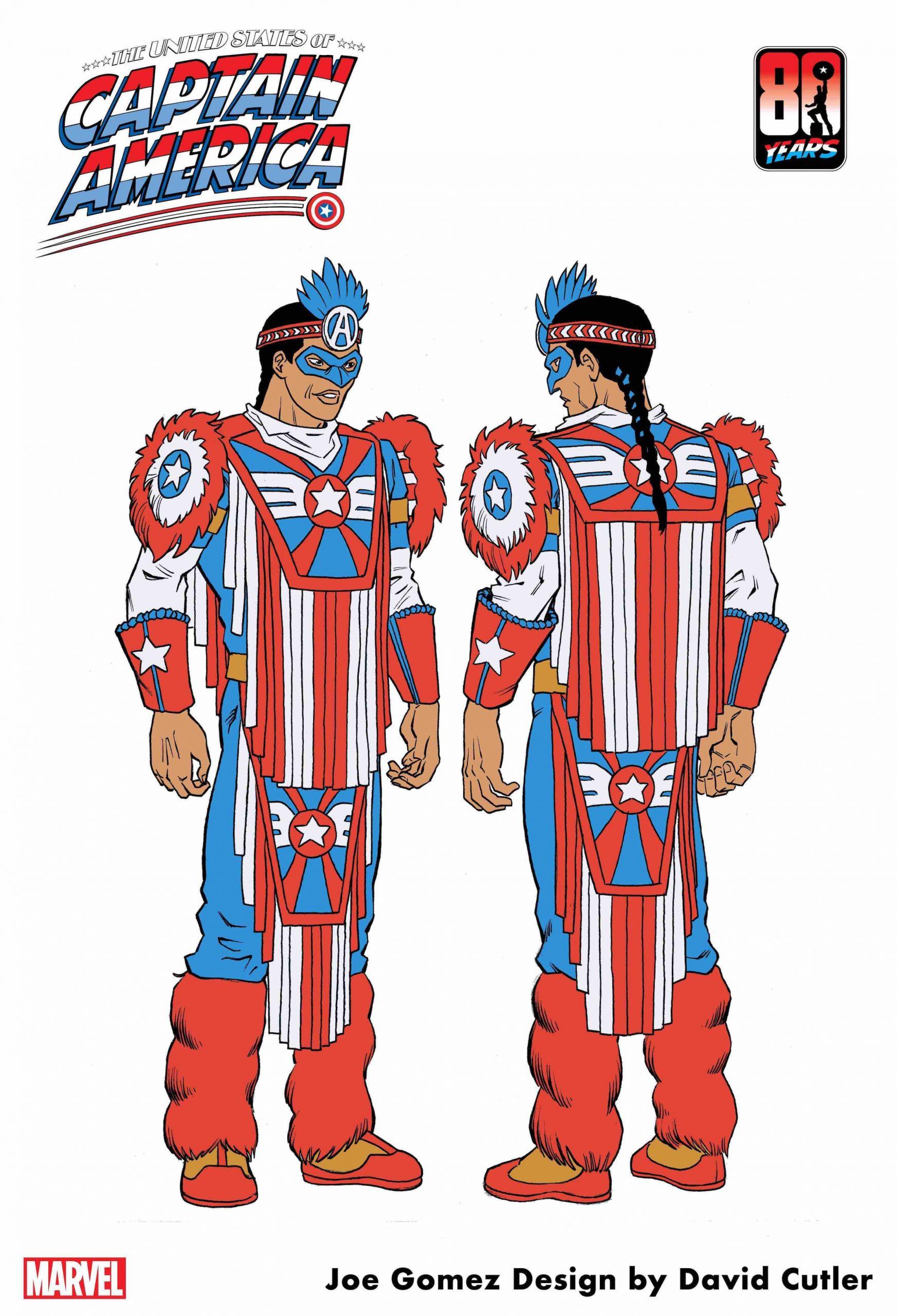 Captain America of the Kickapoo Tribe.