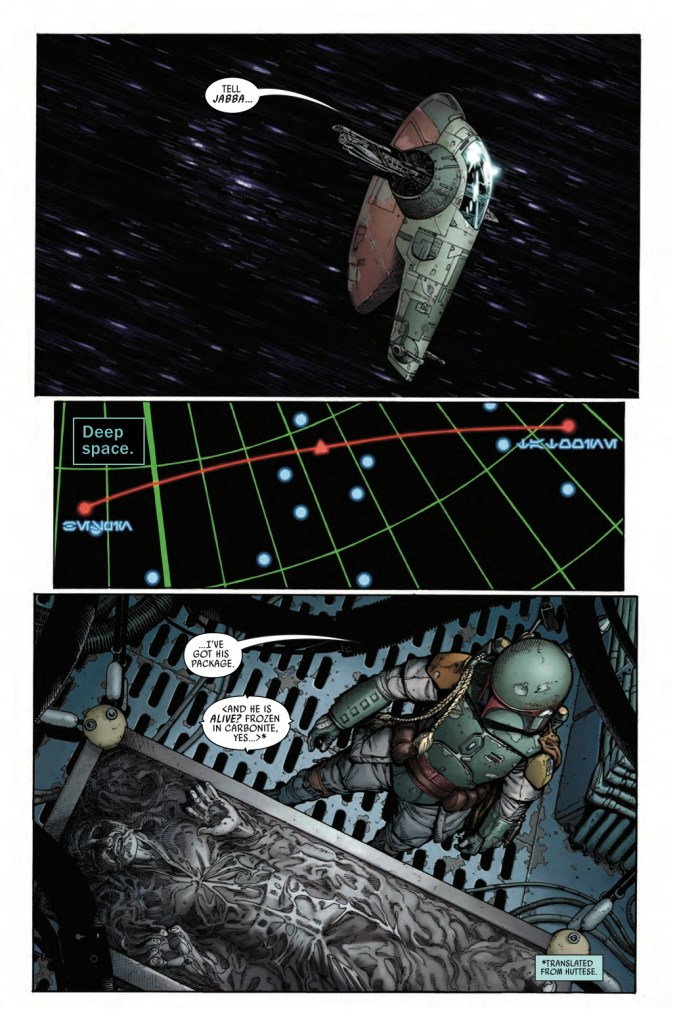 Star Wars: War of the Bounty Hunters Alpha #1 Page 1