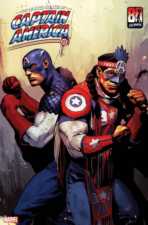 Captain America of the Kickapoo Tribe