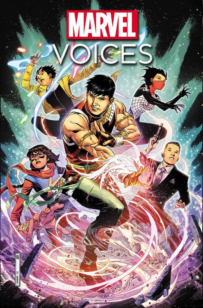 Marvel's Voices Identity Cover
