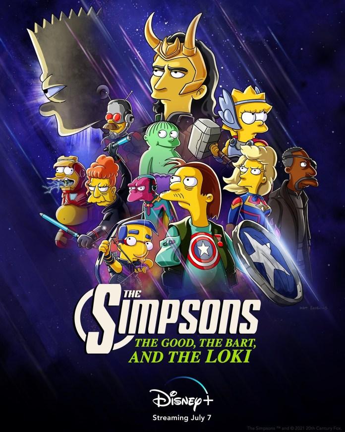 Marvel Simpsons crossover