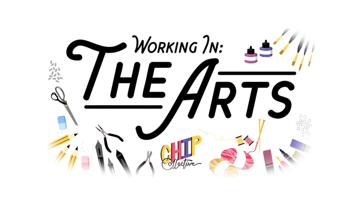 working in the arts
