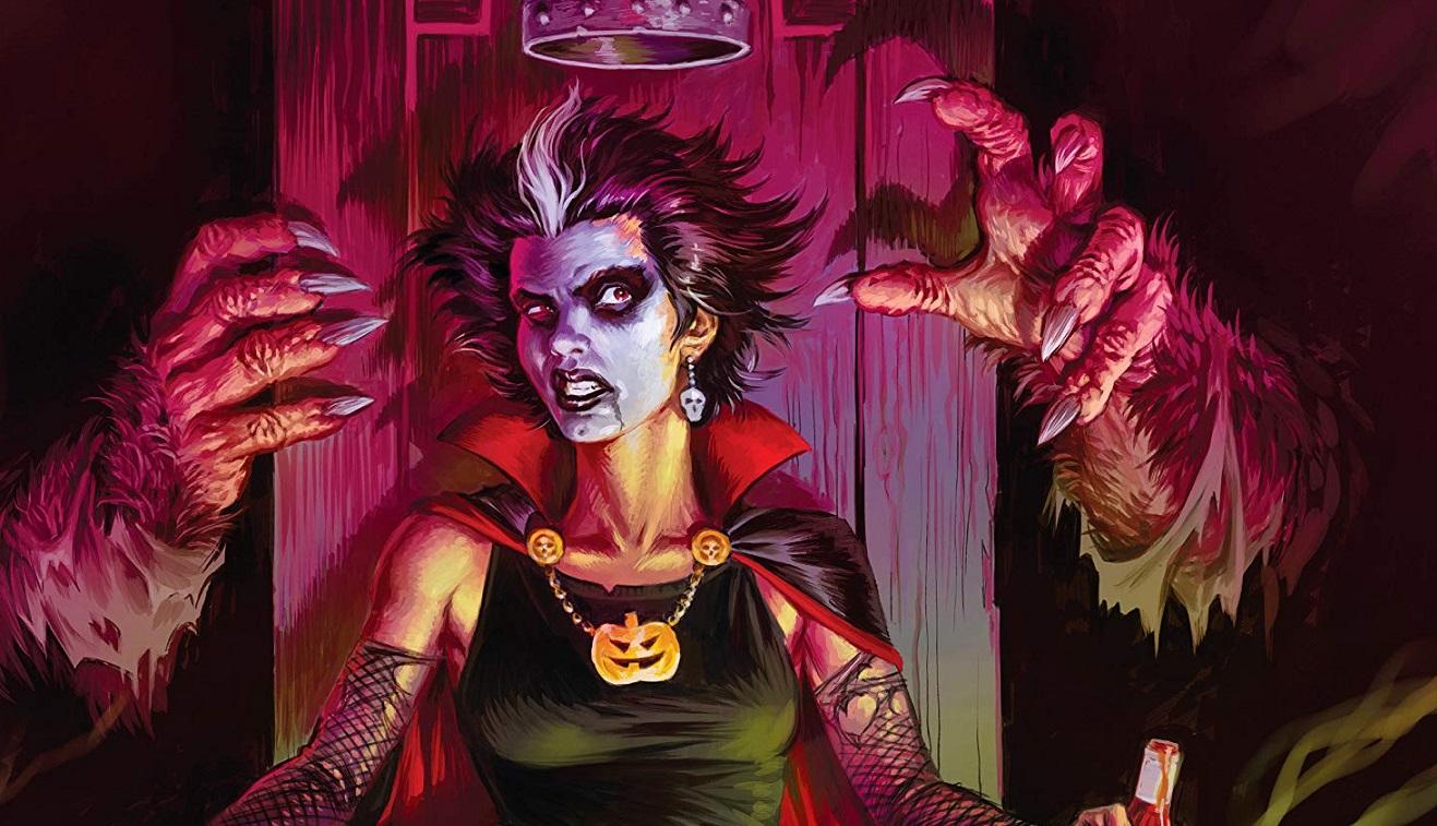 Count Crowley comic