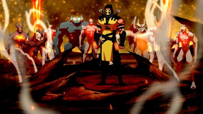 Mortal Kombat Legends: Battle of the Realms animated
