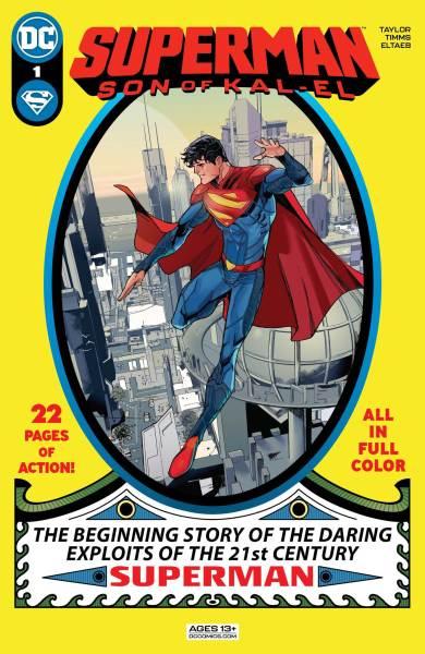 Superman: Son of Kal-El #1 cover