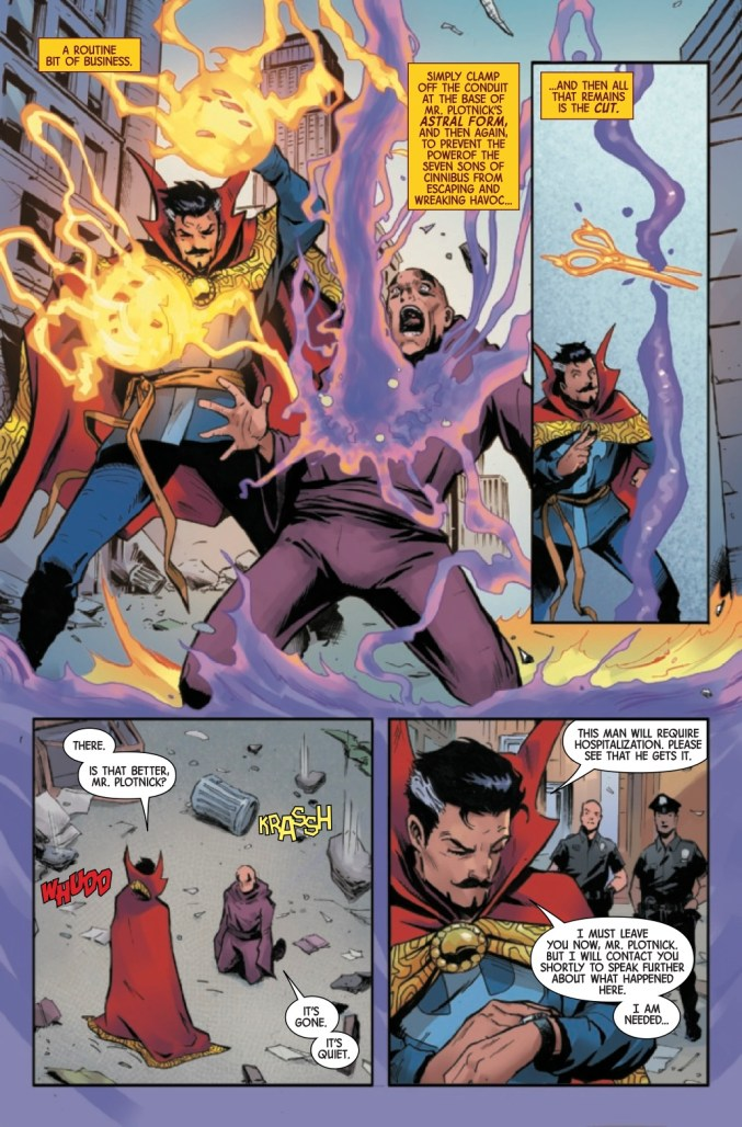 Page From The Death of Doctor Strange #1