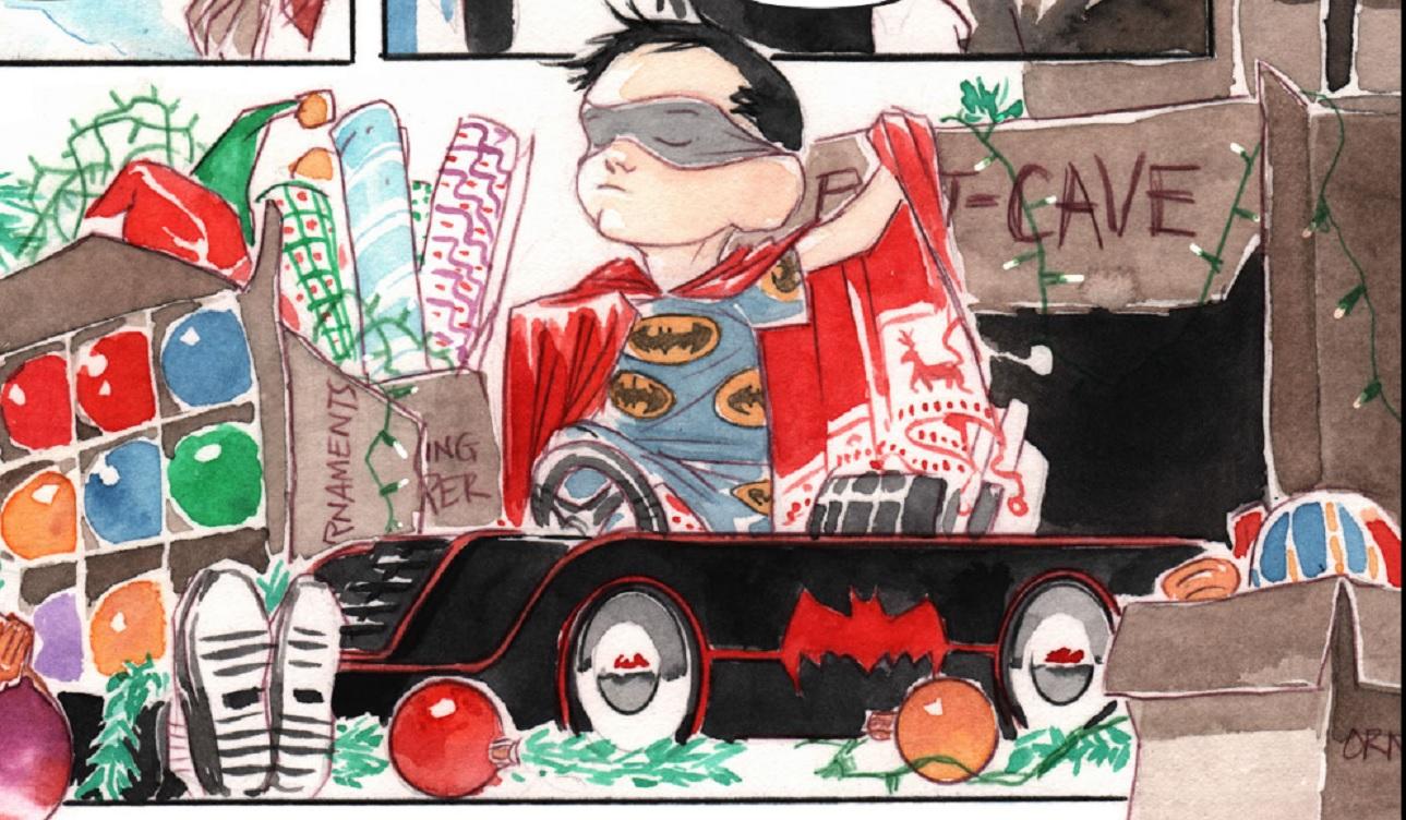 Merry Little Batman animated