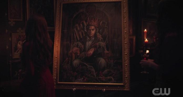 Cheryl paints Jughead on Riverdale