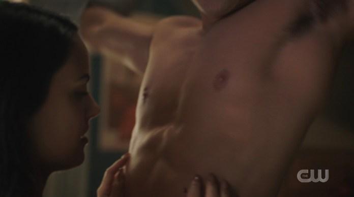 Shirtless Archie Andrews KJ Apa