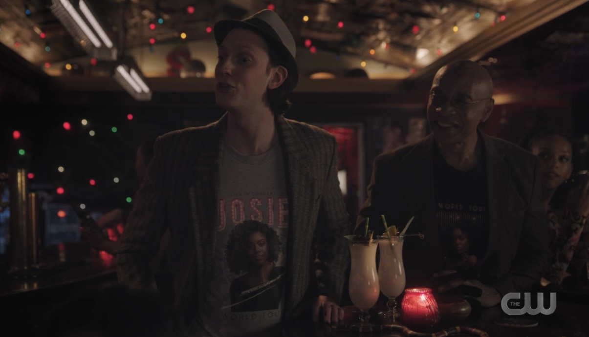 Dr. Curdle is the #1 Josie and the Pussycats fan in Riverdale
