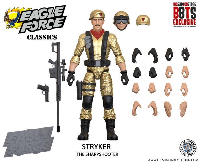 Eagle Force action figures