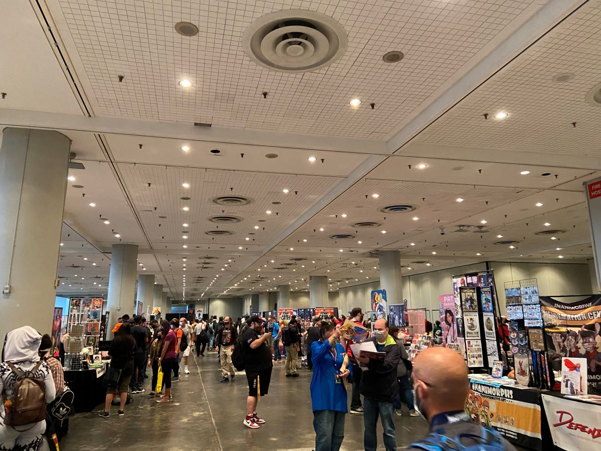 The NYCC '21 Artist Alley: well, part of it at least