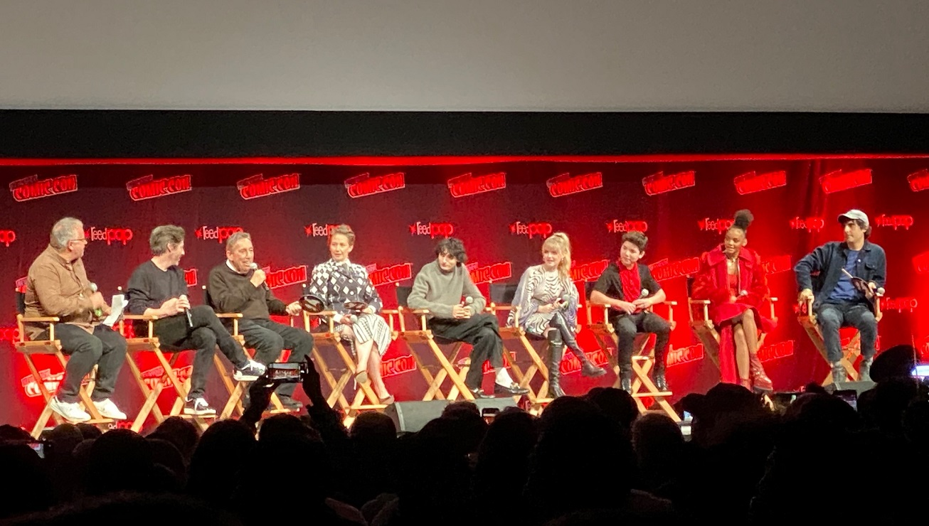 Ghostbusters Afterlife panel