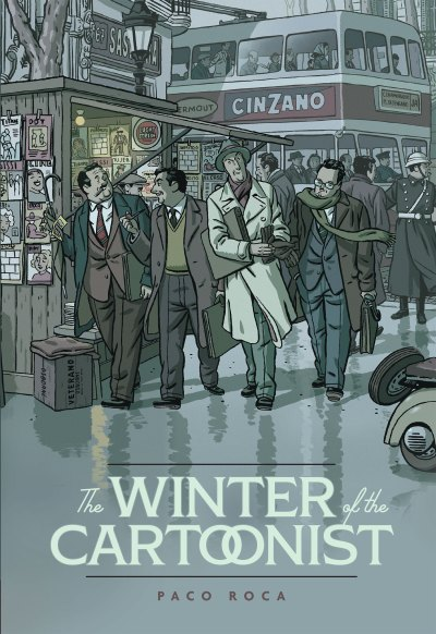 Winter of the Cartoonist cover