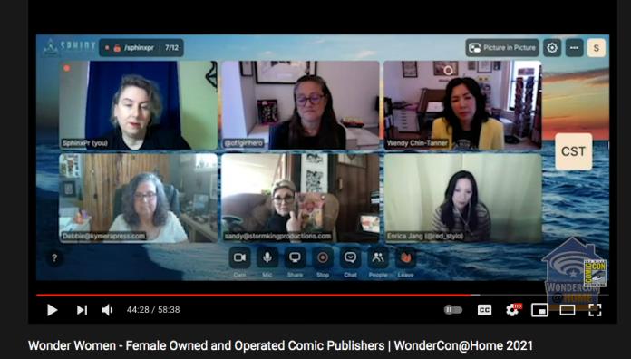 women publishers WonderCon 2020