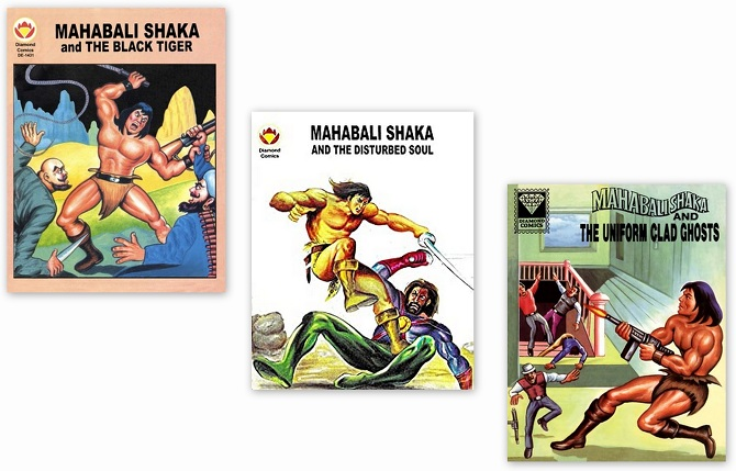 Mahabali Shaka - Diamond Comics - English Editions