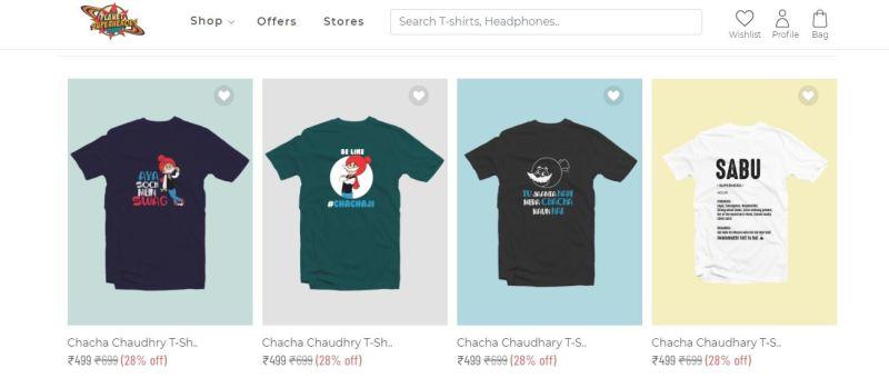 Chacha Chaudhary T-Shirt