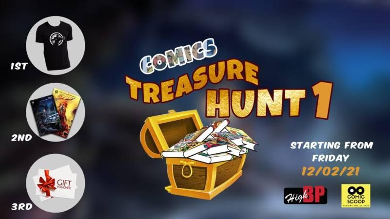 Treasure Hunt - High BP TV & Comic Scoop