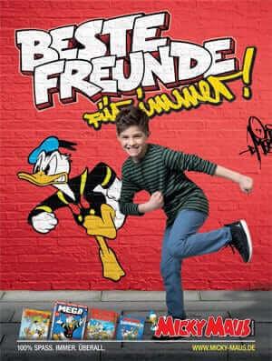 Donald Duck zieht durch Berlin! 1