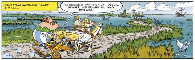 Neuer Asterix-Band vorgestellt 3