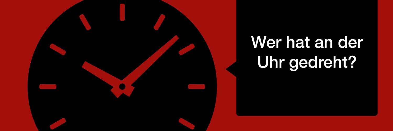 Ironiz #005: Wer hat an der Uhr gedreht? 1