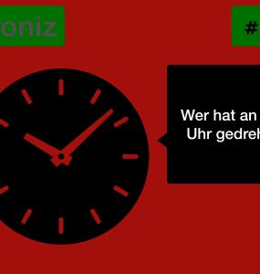 Ironiz #005: Wer hat an der Uhr gedreht? 4
