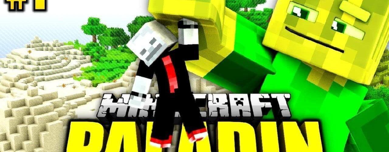 Minecraft Paladin 1