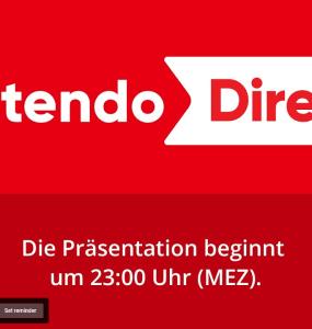 Nächste Nintendo Direct für morgen, 23 Uhr geplant 1