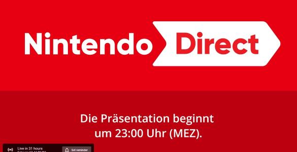 Nächste Nintendo Direct für morgen, 23 Uhr geplant 2