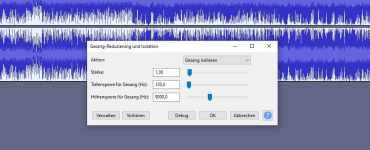 Gesang aus einem Song isolieren in Audacity - So geht's 1
